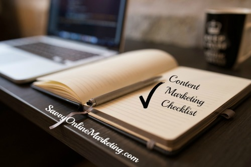 Creating a Content Marketing Strategy Checklist