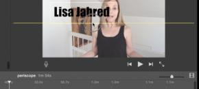 add text overlays in iMovie