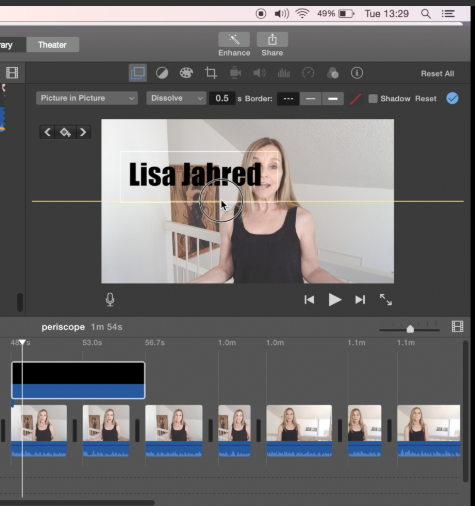 How To Add Color To Neutral Living Room: How To Add Text Overlays To IMovie